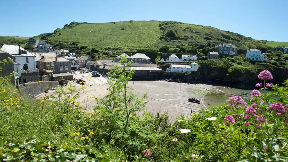The iconic village of Port Isaac.