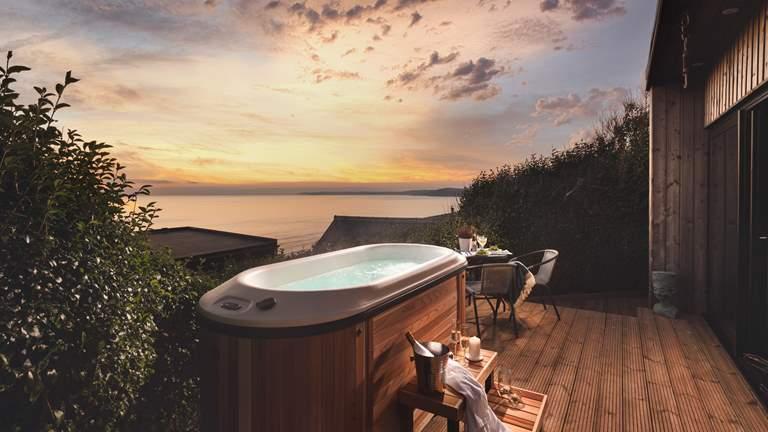 Sealight - Sleeps 2 + cot - Whitsand Bay