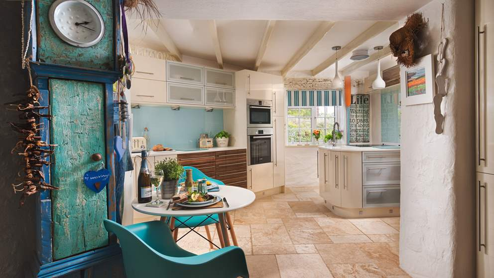 Just wow! The kitchen at Lottie's Cottage is a cook's dream