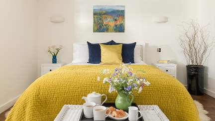 Wildflower Cottage - 3.6 miles N of Totnes, Sleeps 2 in 1 Bedroom