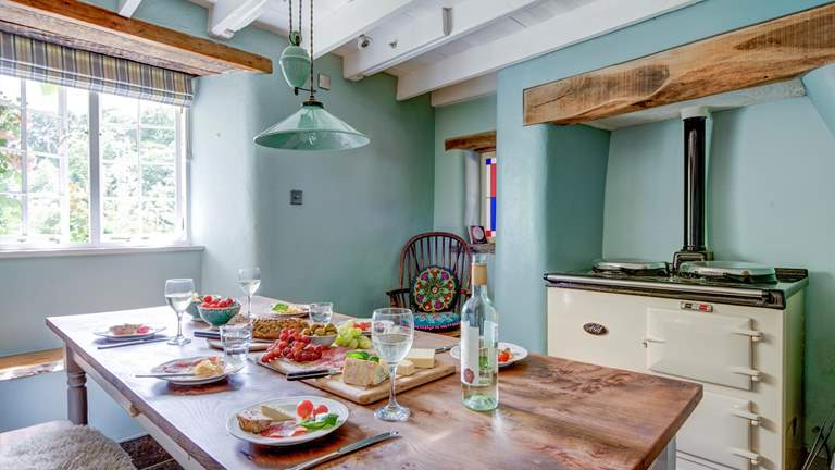 Rose Cottage at Heligan - Sleeps 6 + cot - Mevagissey