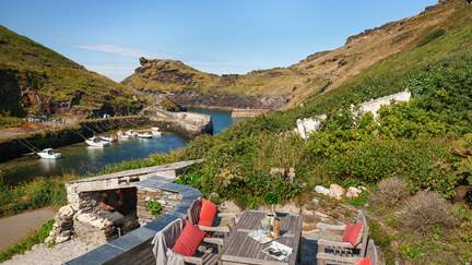 Anchor Cottage - Boscastle, Sleeps 8 + cot in 4 Bedrooms