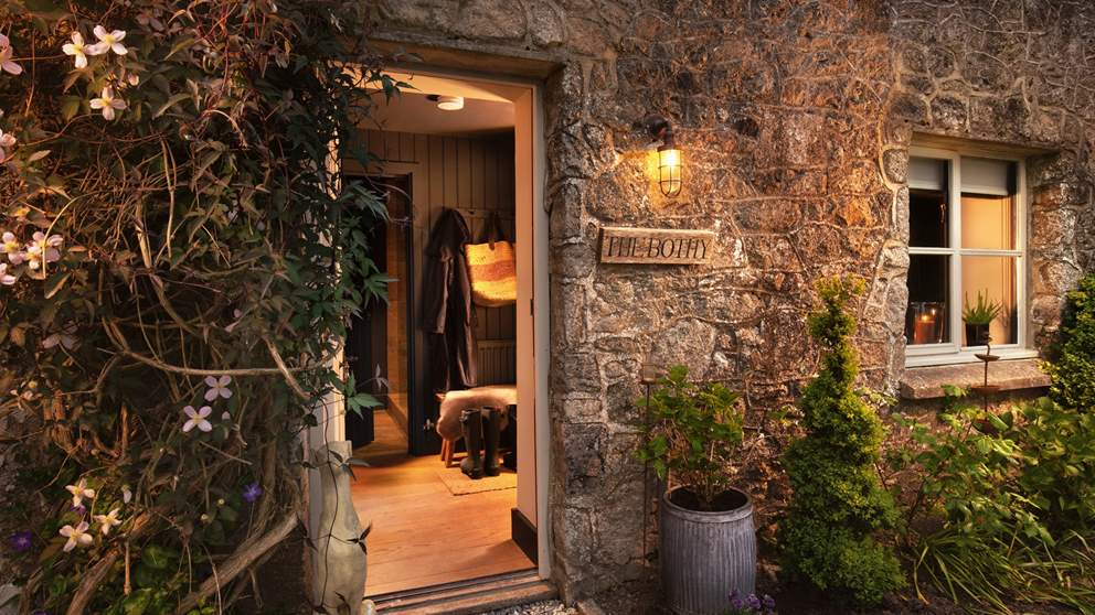 Expect a gorgeously warm welcome at The Bothy.