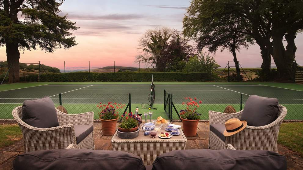 Cream tea and tennis - could it get any more quintessentially British?
