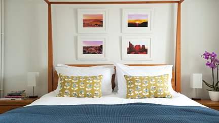 Ochre - BoHo Cornwall   - 3.7 miles N of Sennen, Sleeps 2 + cot in 1 Bedroom