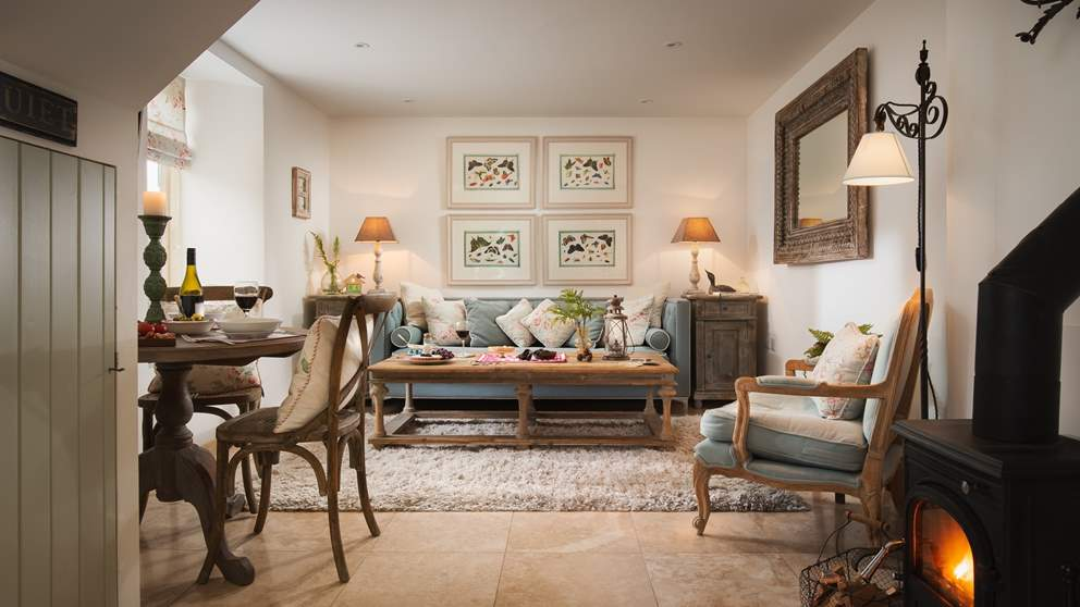Demelza is in keeping with its country style yet embraces modern, open-plan style living