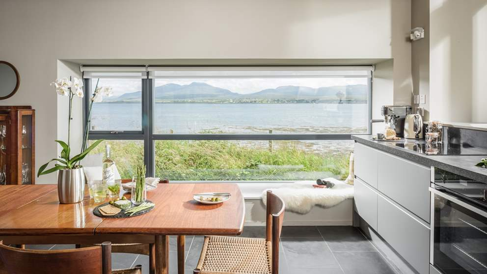 There's plenty of windows to make the most of the gorgeous views