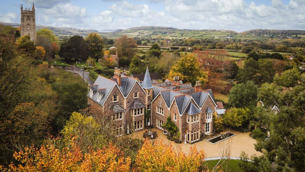 Winscombe Court is a retreat built for entertaining