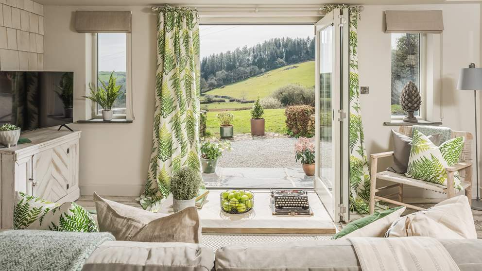 Surrounded by unspoilt countryside, the views are simply divine from every room