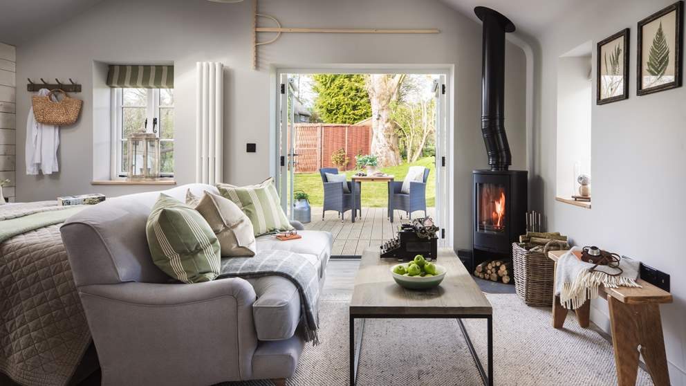 The cosy, welcoming open plan interiors are just perfect for couples or those travelling alone