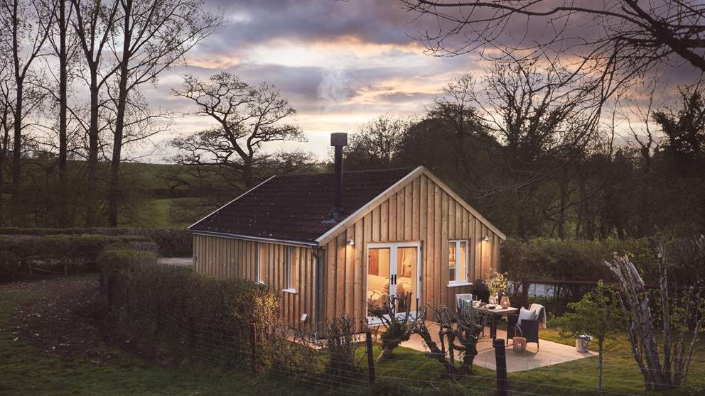 This gorgeous retreat lies nestled deep in the Dorset countryside close to the border with Somerset
