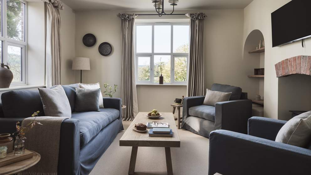 One of many living spaces, perfect for relaxing at the end of a busy day exploring