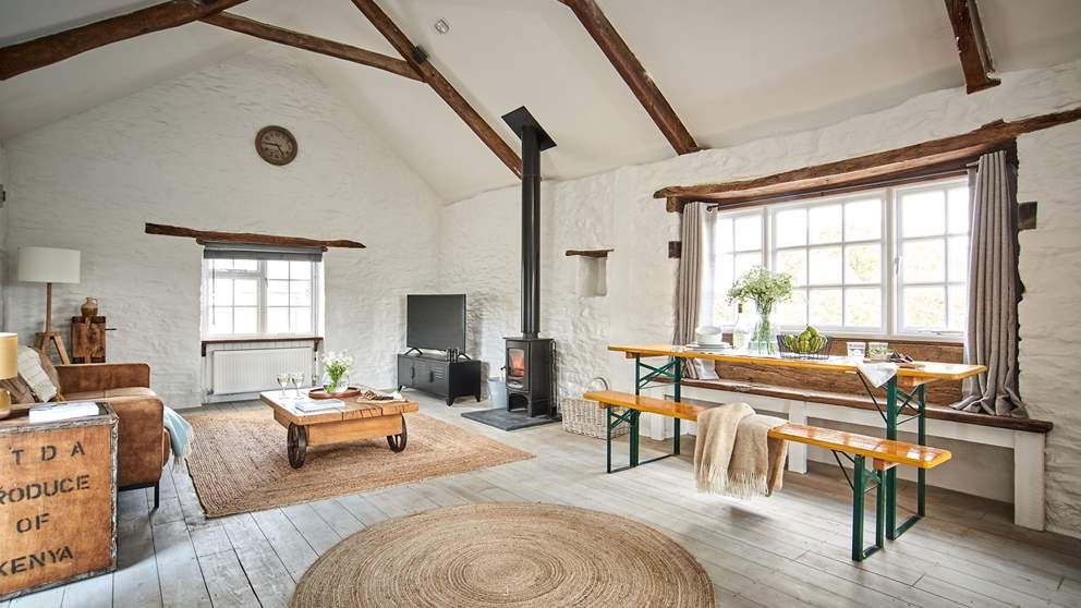 We just love the paired back, contemporary feel of this retreat; a relaxed escape for those wishing to truly unwind