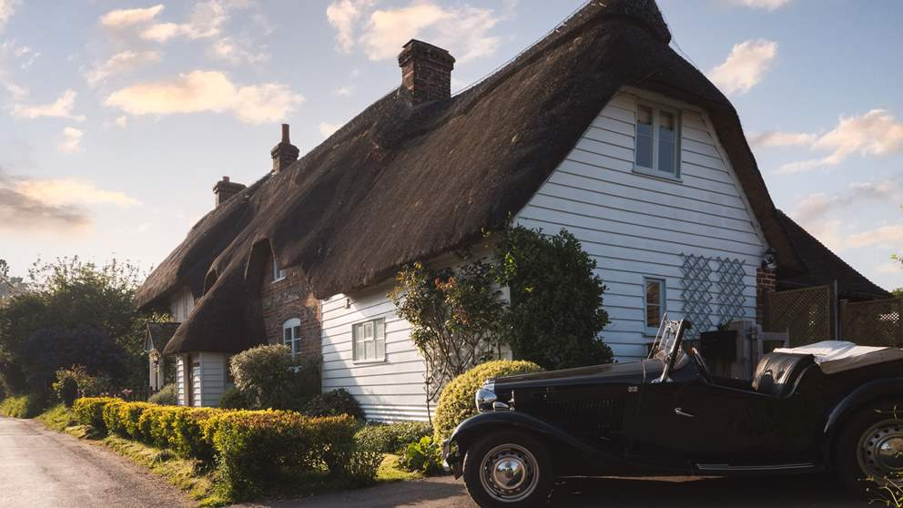 This gorgeous thatched cottage in Dorset is the ultimate country escape