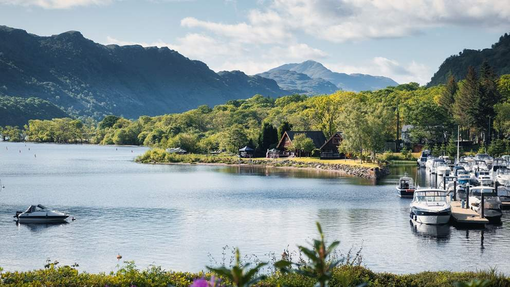 You'll never forget the epic views at Loch Lomond
