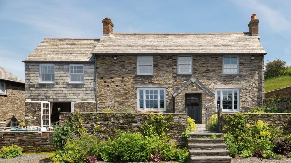 Gorgeous Fentafriddle Farmhouse, set gloriously on the north Cornish coast by Trebarwith Strand