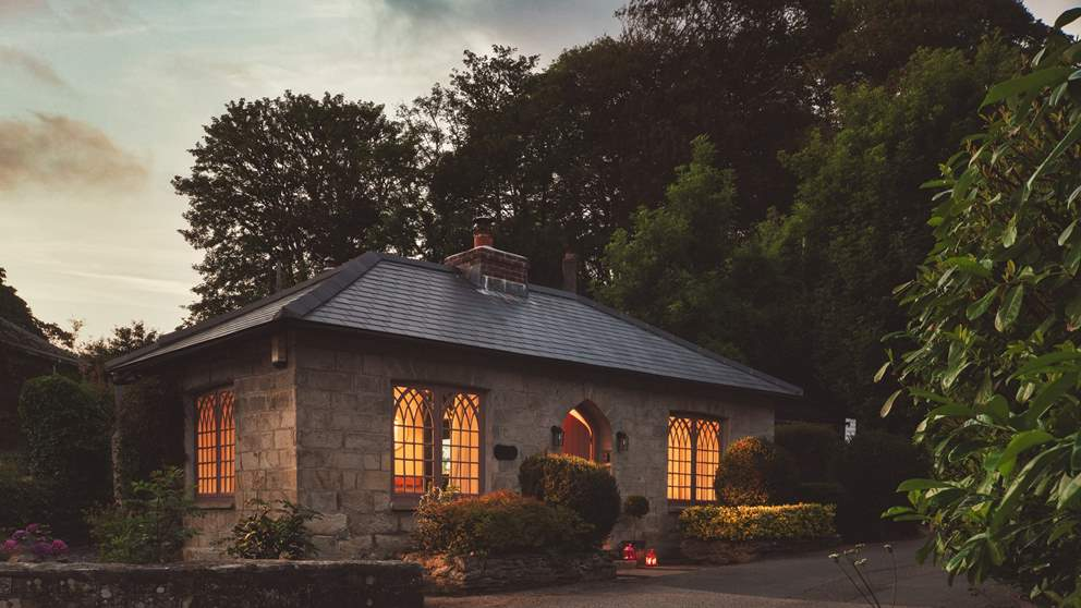 Rose Lodge, our delightfully romantic cottage for two...