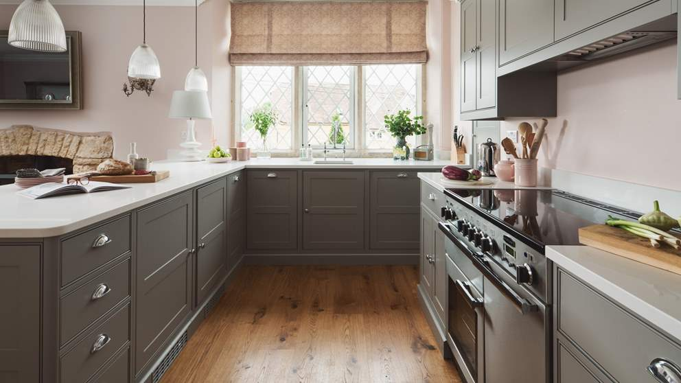 The kitchen comes fully equipped with everything you'll need to rustle up feasts for your loved ones