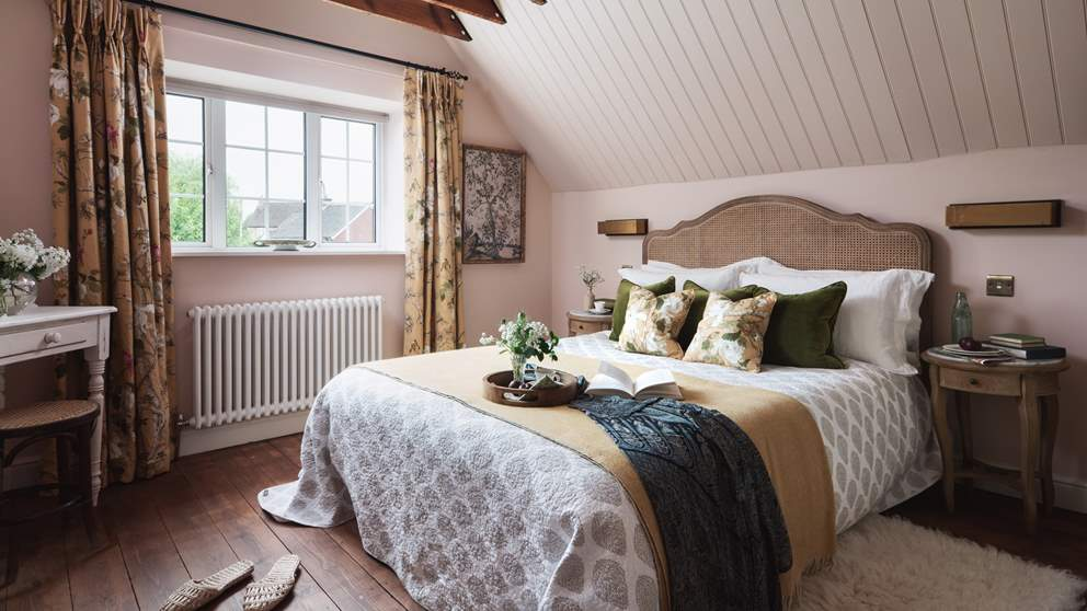Where sumptuous interiors will leave you feeling soothed and relaxed...