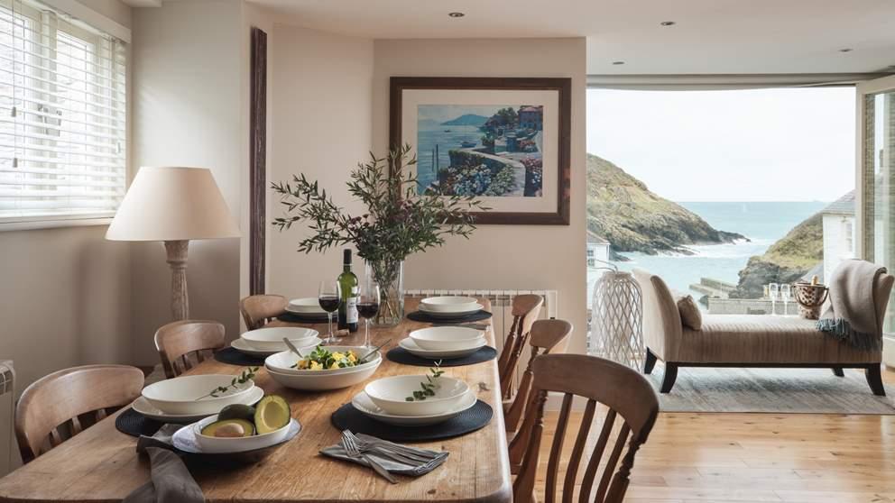 Harbour View has simply unbeatable floor to ceiling coastal views