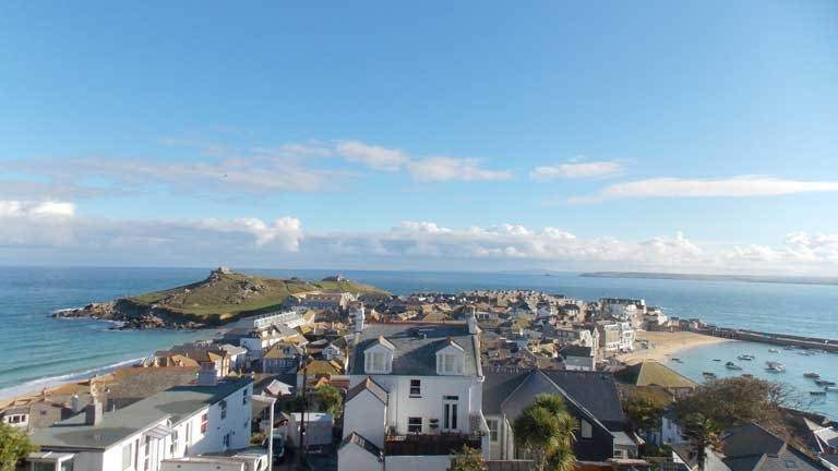 One of the best ocean vistas St Ives has to offer.
